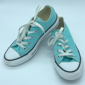 Converse all star sky blue sneakers